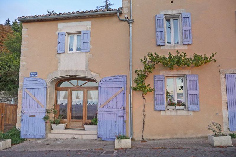 La maison aux volets lavande les r ves d 39 eug nie - Eugenie les bains la maison rose ...